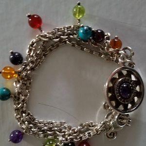 Jewelry - Southwest style Sterling Toggle bracelet